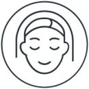 Icon style image for treatment: Facial Aesthetics